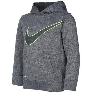 Nike ThermaFit Logo Swoosh Graphic Pullover Hoodie